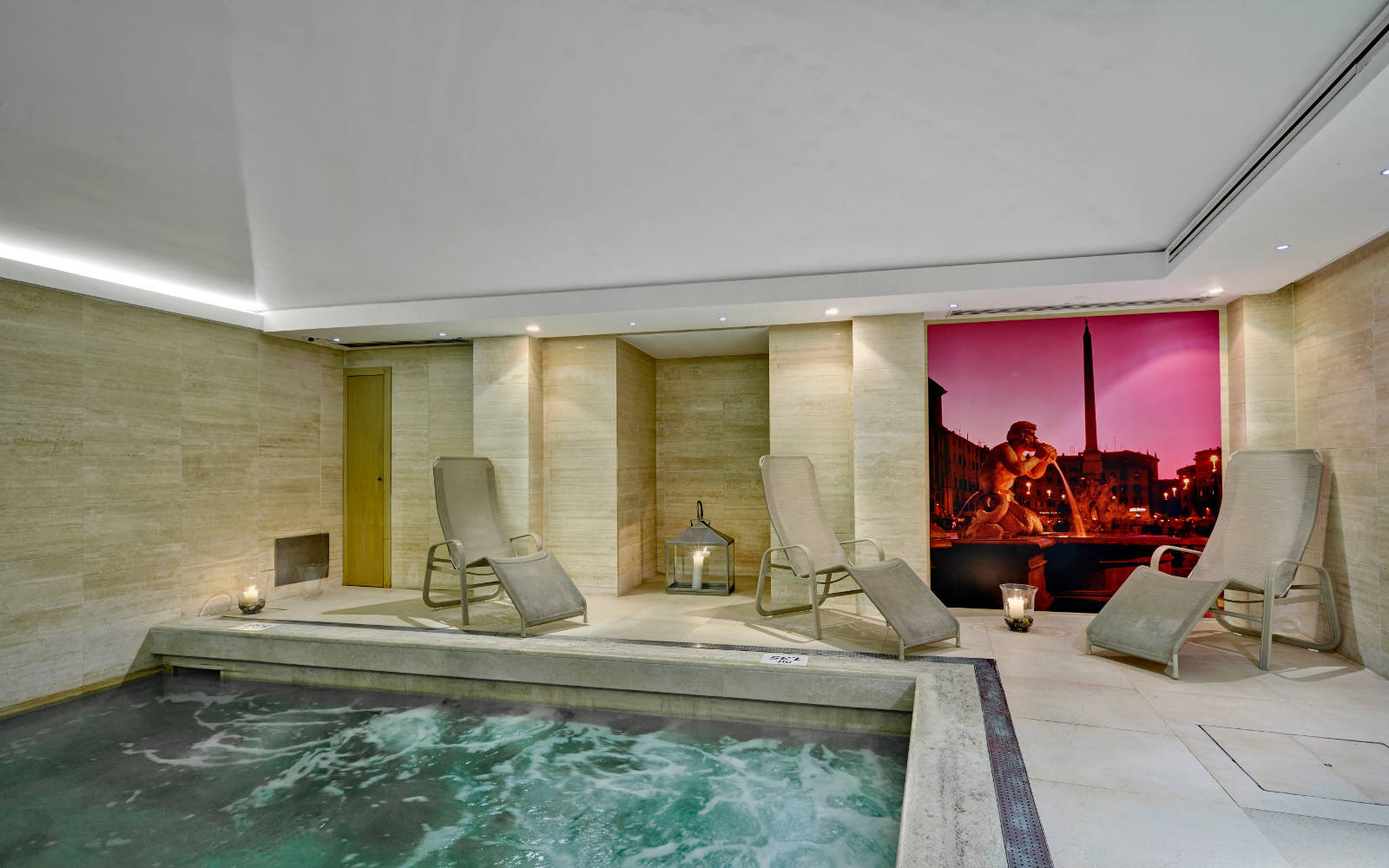St. George Spa: Vasca Whirlpool