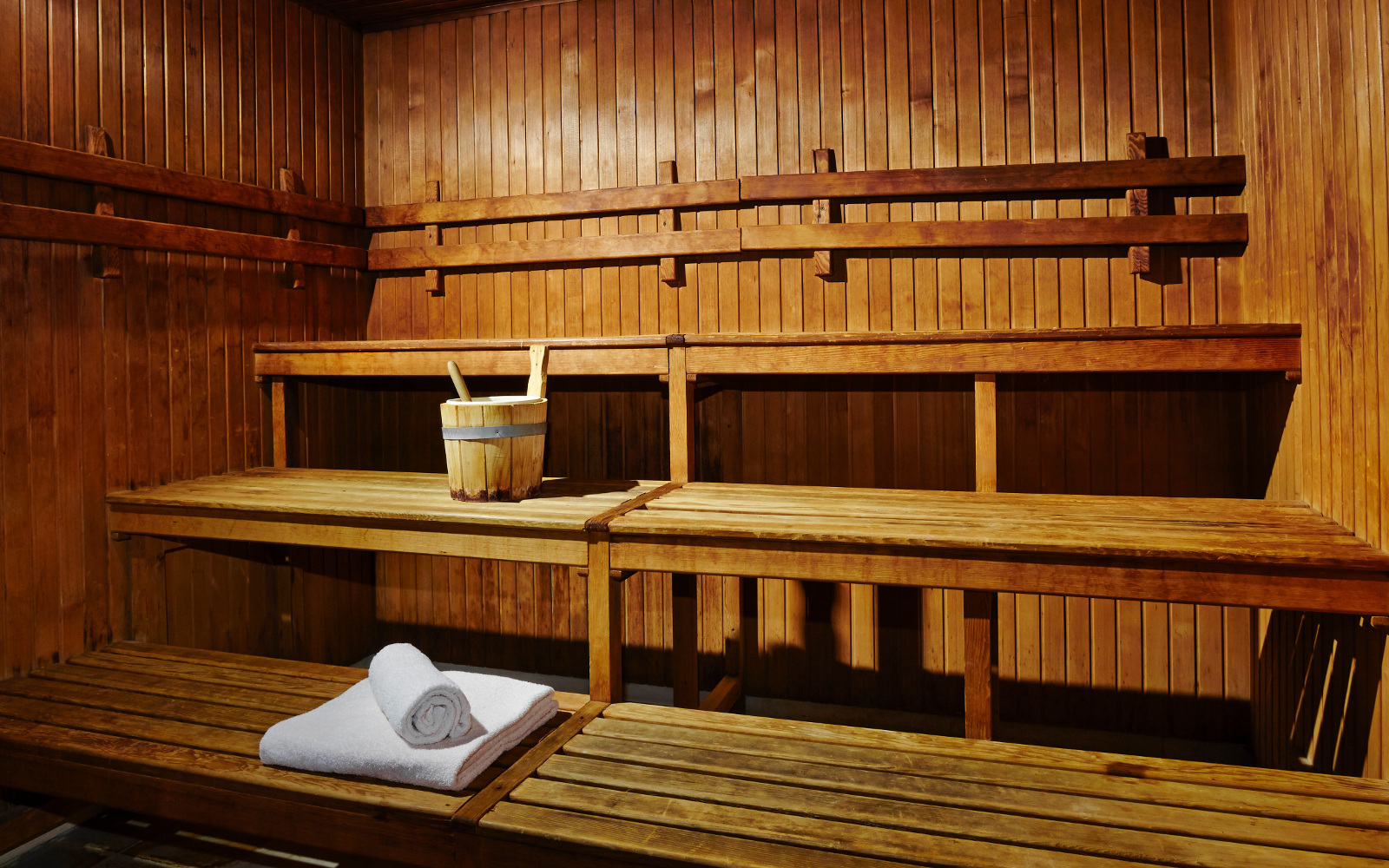 St. George Spa: Sauna